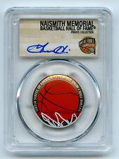 2020 S 50C Colorized Basketball Commemorative PCGS PR70DCAM FDOI Grant Hill