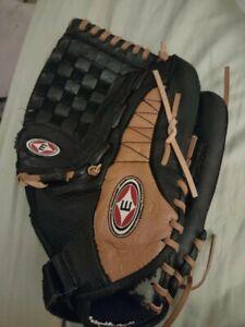 "Eston Adult Baseball Glove - Model # ML 1350L - 13"" Pattern - Broken In - L@@K"