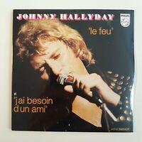 JOHNNY HALLYDAY ♦ CD NEUF SOUS BLISTER ♦ LE FEU