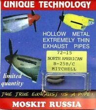 Moskit Exhaust 1:72 North American B-25 B/C Mitchell #Moskit72-15