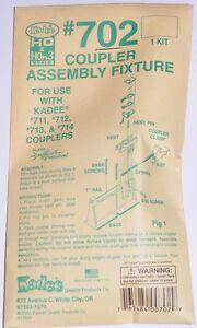 Kadee HOn3 / TT scale #702 assembly jig for  #713 - 714