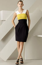 Lida Baday Colorblock Ponte Knit Dress ( Size 4)