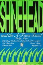 Shinehead A-Team Band Poster Dj Doug Wendt Fillmore Konzert F93 Marke D'Estout
