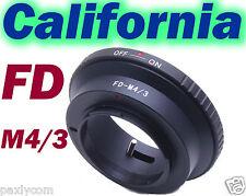 Canon FD Lens To Micro 4/3 M43 M4/3 Adapter G1 GF1 GF2 GH2 DMC-GF2 GH2 G2 G3 G1