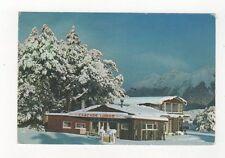 Cascade Creek Lodge In Winter Eglinton Valley New Zealand Postcard 453a