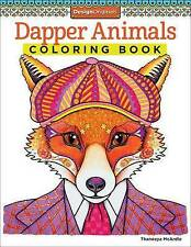 NEW Dapper Animals Coloring Book (Coloring is Fun) (Design Originals)