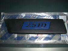 Emblema/BADGE FIAT CROMA 2.5 TD TIPO 154 PARAFANGO LATO GUIDATORE 82467432