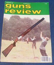 GUNS REVIEW MAGAZINE DECEMBER 1992 - THE BROWNING B325 SPORTING SHOTGUN