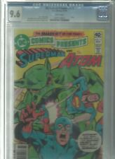 DC COMICS PRESENTS #15 CGC 9.6 WHITE PAGES SUPERMAN AND THE ATOM 1979
