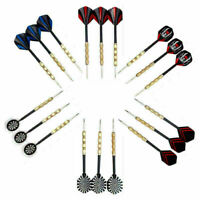 18 stk (6 sets) 3 stk/set Flight Steel Tip Dart Darts K1Q5 Nice P4T8 W3S8 L P0V6