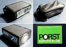 PORST - Flash / Blitz - Hapotron S18 + Manuels + Sacoche de Transport - RARE