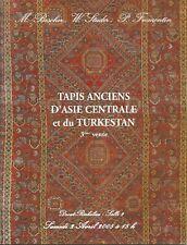 Catalogue vente enchères 2005 Tapis Asie centrale Tukestan