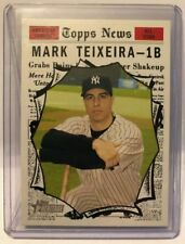 2010 Topps Heritage #463 Mark Teixeira - All-Star Yankees NM/MT