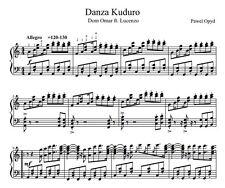 Music Score - Danza Kuduro - Pdf