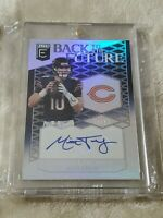 2018 Panini Elite Mitchell Trubisky Back To The Future Auto #02/25 Chicago Bears