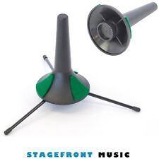 CPK BELL SHAPED TRUMPET STAND. 3 EXTENDABLE LEGS - BWA87