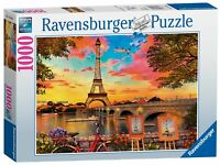 15168 Ravensburger The Banks of the Seine Jigsaw Puzzle 1000pc Age 12 Years+