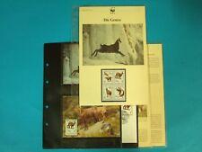 Albanien 1990 WWF komplettes Kapitel postfrisch MK FDC Gemse (WW149