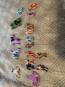 Computer Warriors Lot Ships with figures