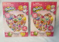 Shopkins Sticker Book - Puffy Stickers - 306 Stickers - Lot of 2