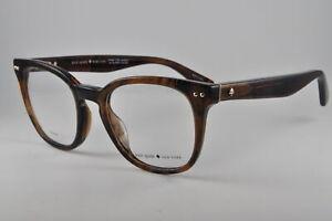 Kate Spade Eyeglasses BRYNLEE 0086 Dark Havana, Size 49-20-140