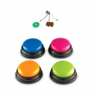 Voice Recording Sound Button Recordable Talking Easy Carry for Kids Pet Dog Inte