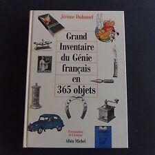 Grand inventaire du Génie français en 365 oblets Jérome DUHAMEL