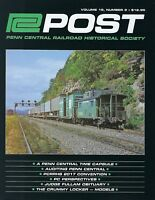 PC Post - 2nd Qtr. 2018 Issue of PENN CENTRAL Historical Society NEW - 2018
