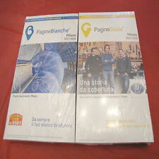 Pagine gialle e bianche white yellow pages Milano Italy 2017 2018 nuove insieme