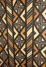 African Mudcloth, Handwoven, Handpainted, Lge