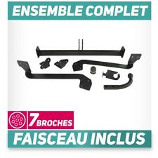 Attelage rigide Peugeot Partner II Furgon/Tepee 4628 mm de 08+faisceau 7 broches