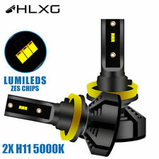 2PK H11 LED 150W With Lumileds Luxeon ZES Chips Car Headlight 5000K FOR Toyota