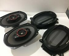 """Pioneer TS-900M, 6"""" x 9"""" 4-way coaxial speakers, 450W max power See Description"""