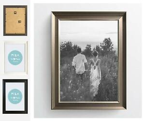 Milano Modern Photo Picture Frame Contemporary Poster Wall Mounted All Sizes UK