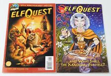 Lot 2 Comic Books: Elf Quest #33 (Warp) & 25th Anniversary Special #1 (DC 2003)