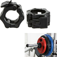 25mm Safety Barbell Clamp Barbell Snap Latch Quick Release Secure Dumbbell