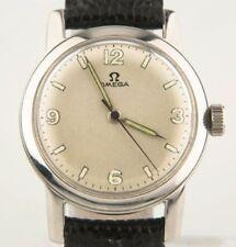Relojes de pulsera OMEGA de piel acero inoxidable