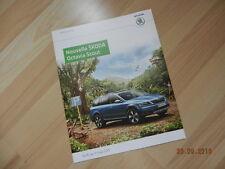 Catalogue NouvelleSKODA OCTAVIA Scout mai 2015