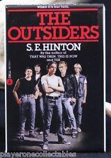 "The Outsiders Book Cover - 2"" X 3"" Fridge / Locker Magnet. S. E. Hinton"