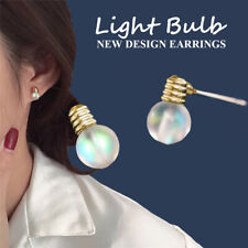 Tiny  Bulb Shape Stud Earrings for Women Korean Cute Simple Wind  Funny UK