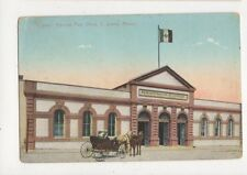 Correo Mexican Post Office C Juarez Mexico Vintage Postcard 645a