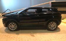Welly 1:24 1/24Land Range Rover Evoque Black Diecast Model SUV Car