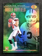 Baker Mayfield 2018 Panini Illusions Green Rookie Card /99 #2 Cleveland Browns