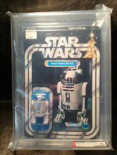 Kenner Star Wars Vintage R2D2 12 Back-A AFA 80 Original Action Figure