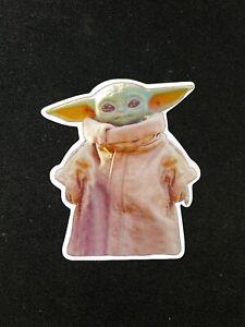 "Baby Yoda ""The Child"" of The Mandalorian Laptop Sticker"