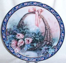 Lena Liu's Basket Bouquets / Blütenzauber ~ 3. Bradex Sammelteller Tulips Lilacs
