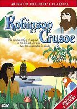 Robinson Crusoe DVD Animated Children's Classic English & Spanish NEW