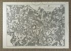 ORIGINAL - CIVIL WAR BATTLE of HIGH BRIDGE and FARMVILLE, VIRGINIA MAP c1865