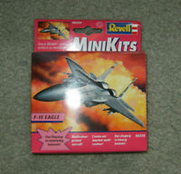 Revell MiniKit Minikits Mini Kits F-15 Eagle Plastic Model Kit 06549 Snaptite