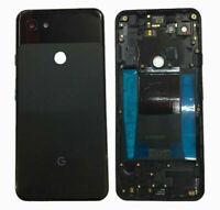 "Google Pixel 3A 5.6"" Battery Back Rear Cover Door Housing Frame Black New"